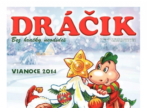 Dráčik Vianoce 2014