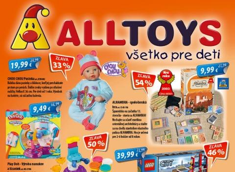 AllToys - aktuálny leták