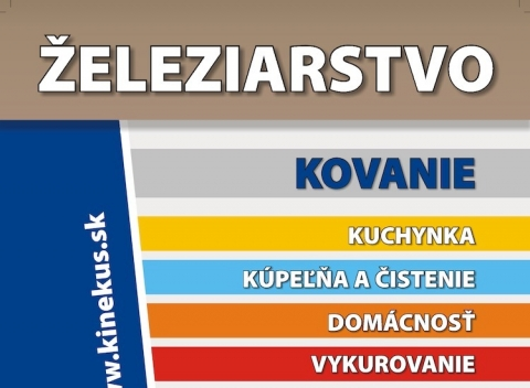 Kinekus - Železiarstvo