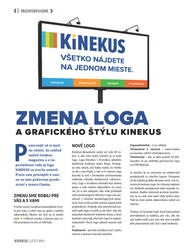 4. stránka Kinekus letáku