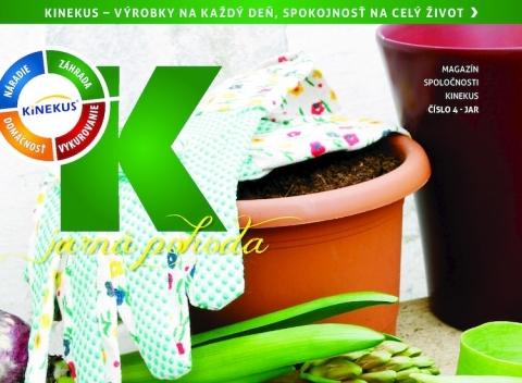 Kinekus - Záhrada na jar