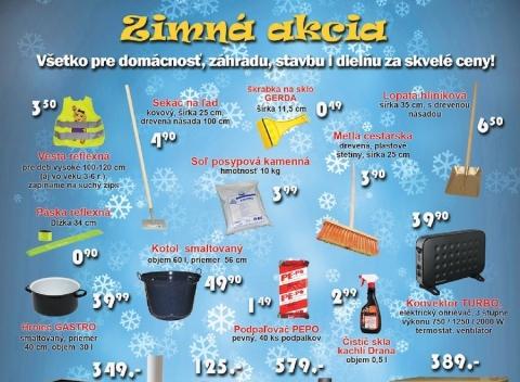 Kinekus - Zimná akcia