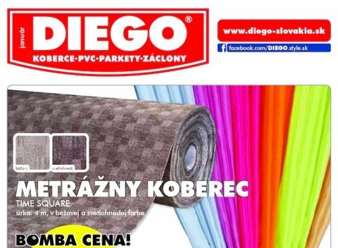 DIEGO - Aktuálny leták