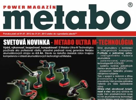 Profitex - Leták Metabo