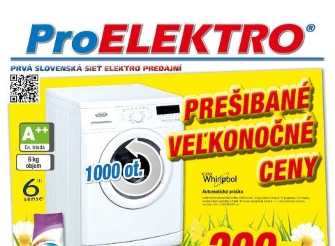 Pro Elektro - Akciový leták