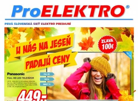 Pro Elektro aktuálny leták