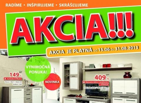 DAZA - AKCIA NÁBYTOK