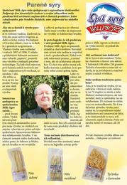 4. stránka Milk agro letáku