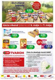 2. stránka Milk agro letáku