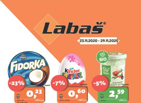 Labaš - Špeciálna týždňová akcia
