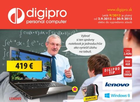 DigiPro.sk - leták