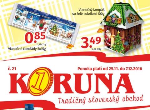KORUNA - Akciový leták
