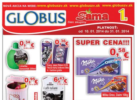 Globus - aktuálny leták