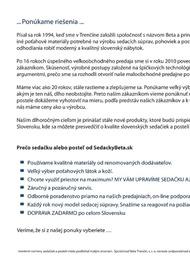 3. stránka BETA Trenčín letáku