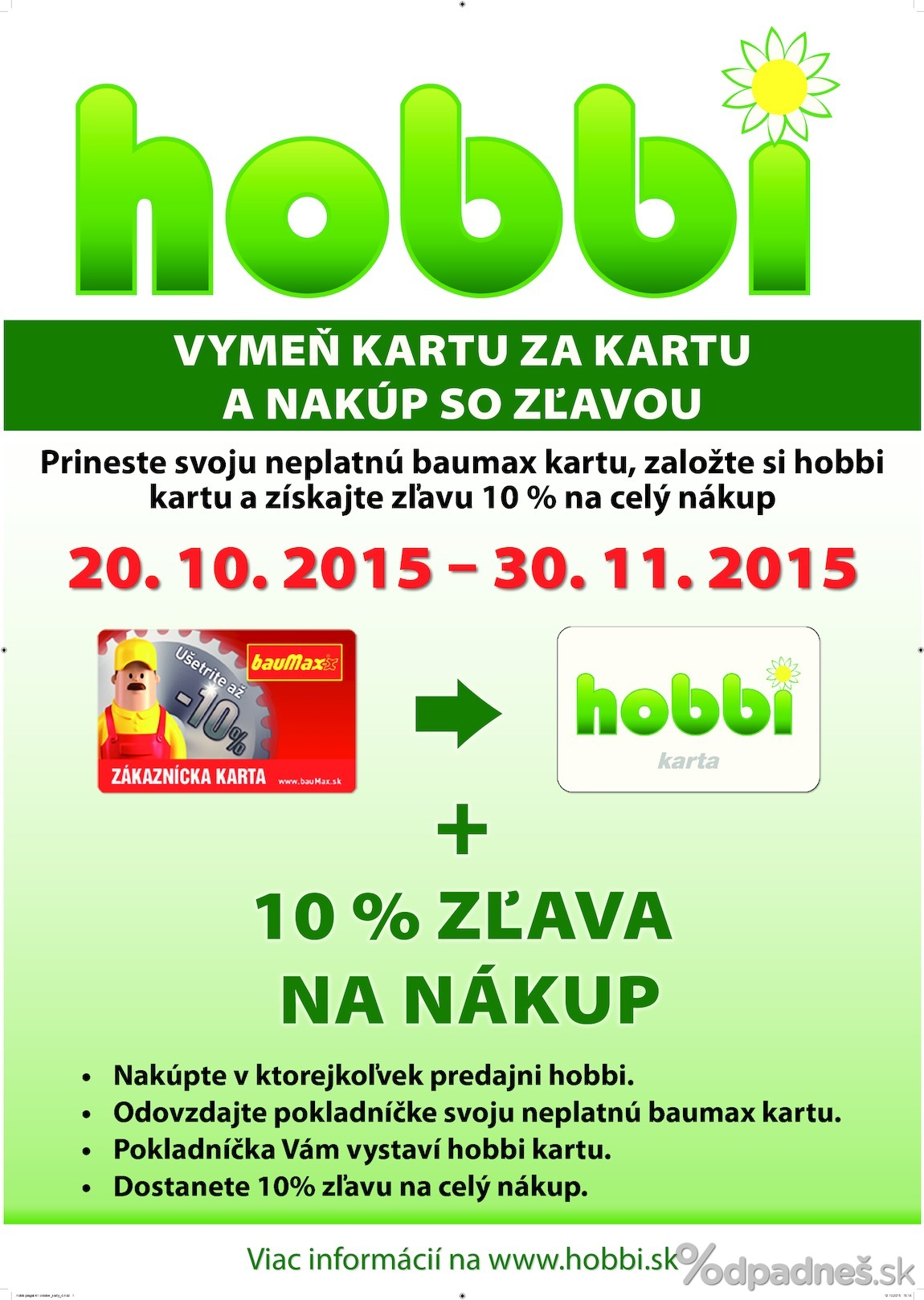 Hobbi Letak Platny Do 30 11 2015 Letakovo Sk