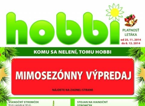 Hobbi - akčný leták
