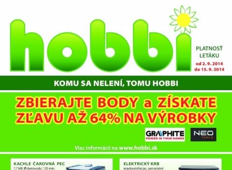 Hobbi - aktuálny leták