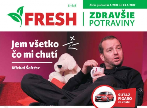Fresh - stredné a západné Slovensko