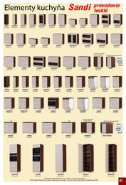 41. stránka Elpo nábytok letáku