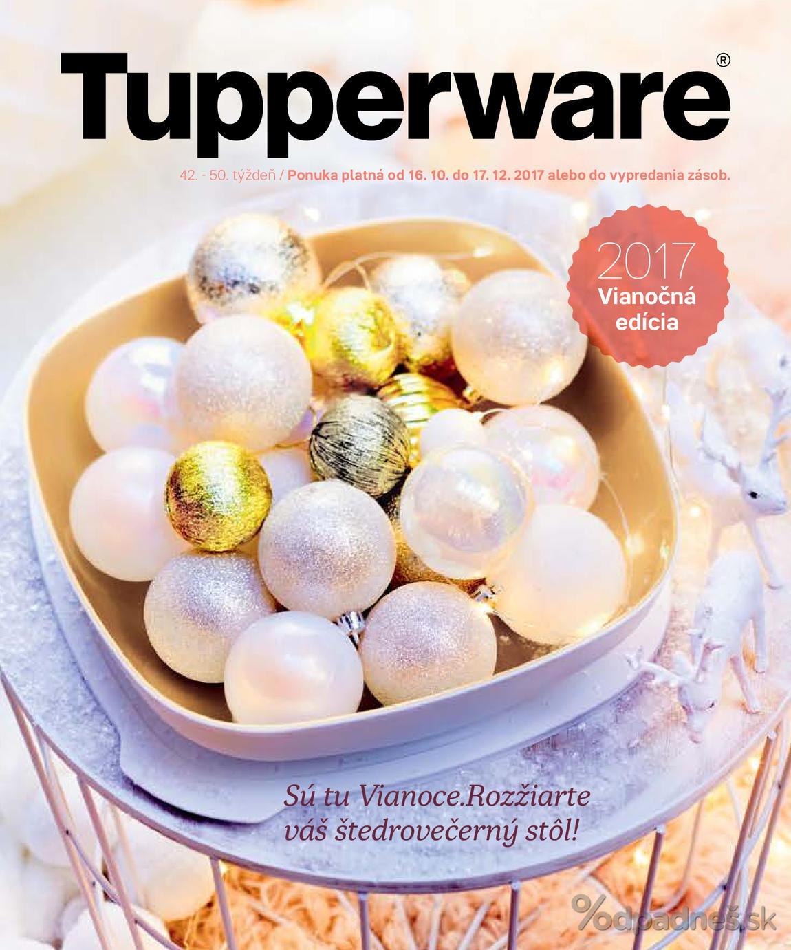 1. stránka Tupperware letáku