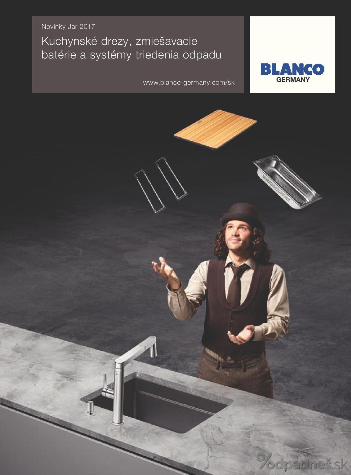 1. stránka Blanco letáku
