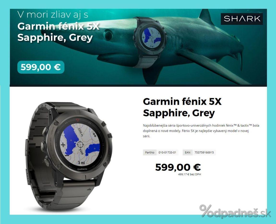 1. stránka Shark letáku