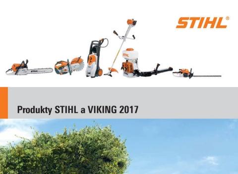 Stihl - katalóg 2017