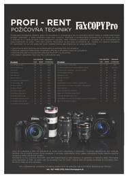 14. stránka Faxcopy letáku