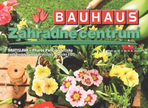 BAUHAUS - Záhradné centrum