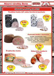 9. stránka DMJ market letáku