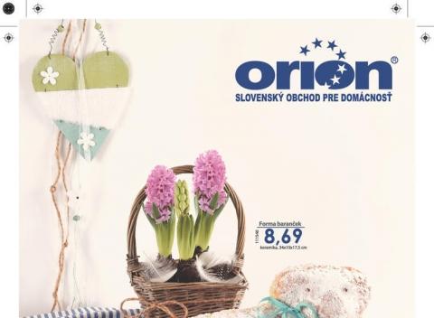 Orion - katalóg JAR 2017